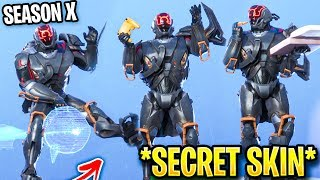 "FORTNITE *FREE* ""VISITOR VOLTA"" SECRET SKIN.! (Season X Mystery Skin)"