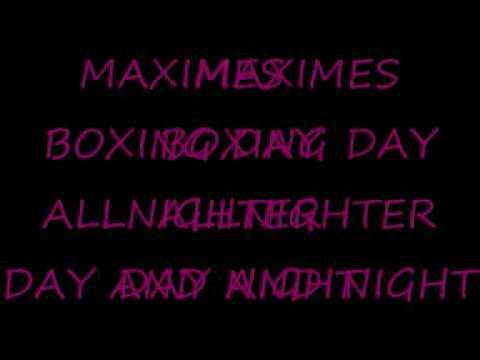 MAXIMES DAY N NIGHT