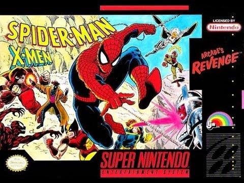 Spider - Man and the X-Men: Arcade's Revenge Video Walkthrough