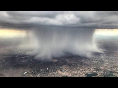 أقوى 10 اعاصير ضربت العالم تم تصويرها بالكاميرا