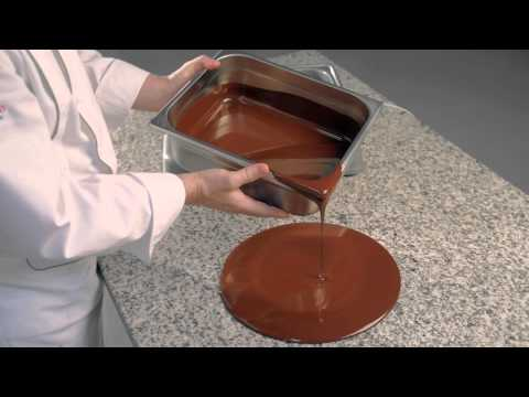 Tempering of Couvertures -- Tempering on a marble surface