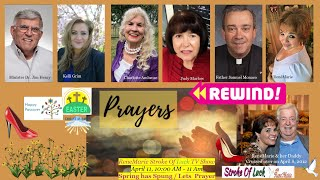 Spring has Sprung - Let's Pray `April 11, 10:00 AM - 11 Am ReneMarie Stroke Of Luck TV Show