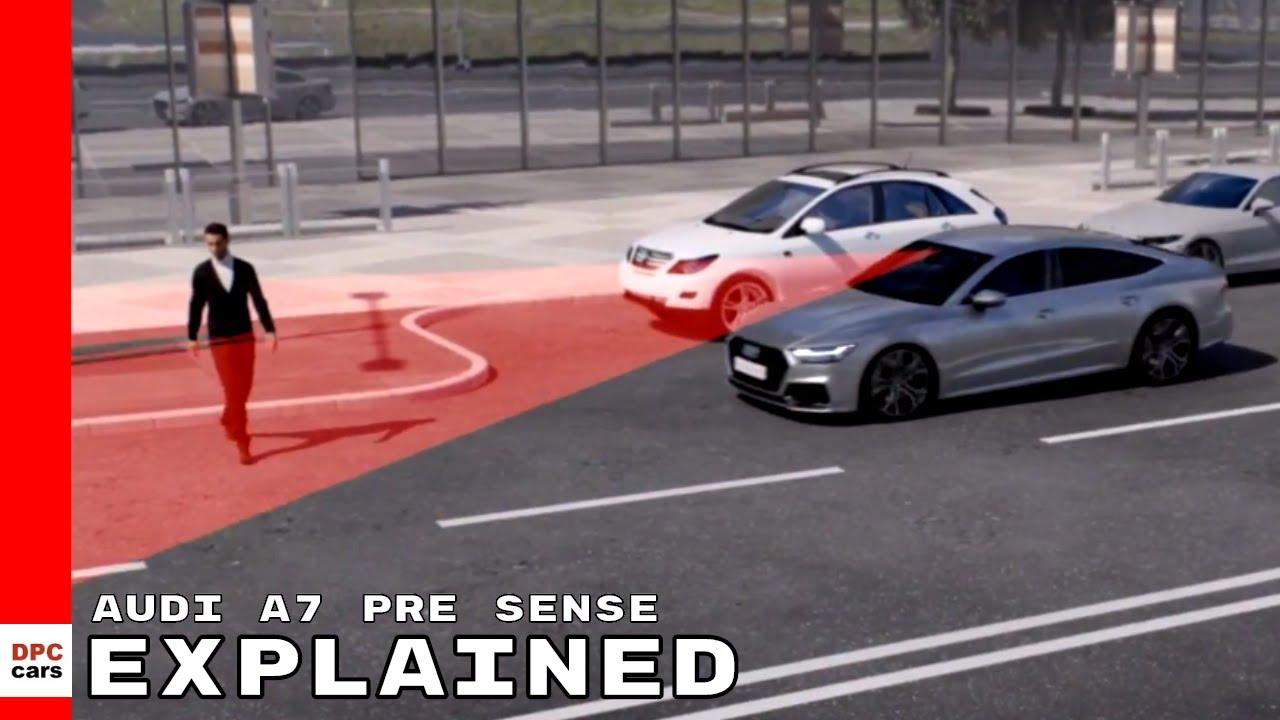 2019 Audi A7 pre sense Explained