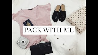 PACK WITH ME FOR EUROPE | 2 WEEKS IN A CARRY-ON SUITCASE | Emilykaitlyn