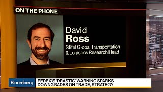 FedEx Slashes Profit Outlook on Trade War, Global Growth Concerns
