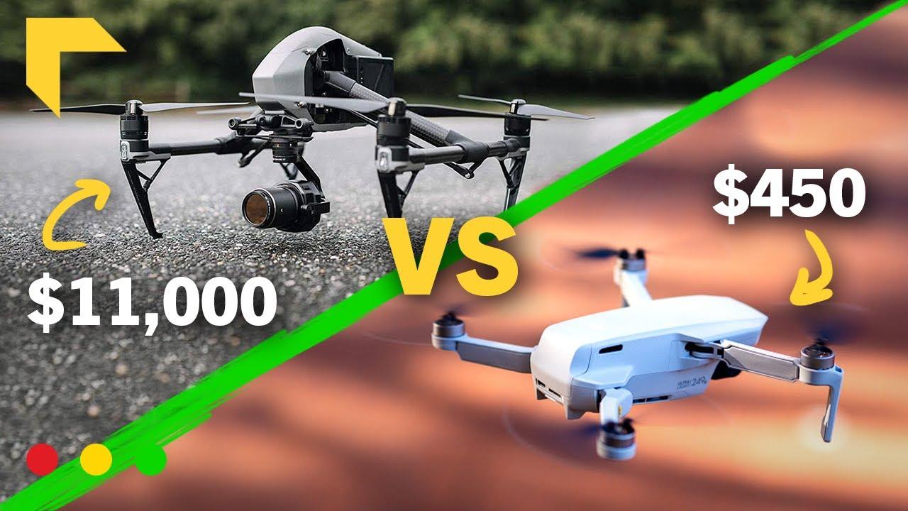 DJI Mini 2 vs $11,000 Hollywood Movie Drone