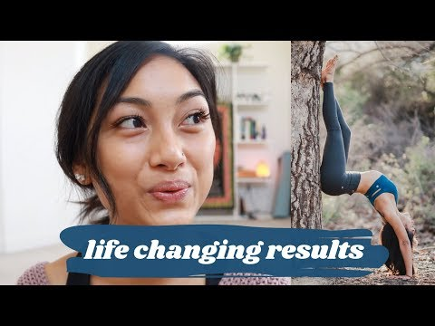 getting flexible!! + how yoga EVERY DAY for a year changed my life