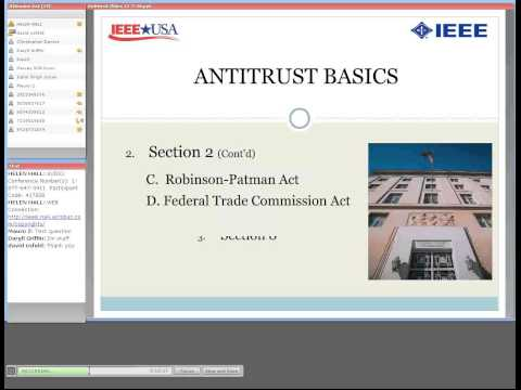 Antitrust Basics and Copyrights