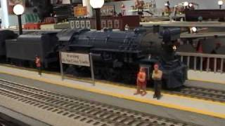 Jersey Central Railroad - The Blue Comet