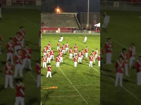 EAHS Marching Band - First Flag Band Festival 10/4/17