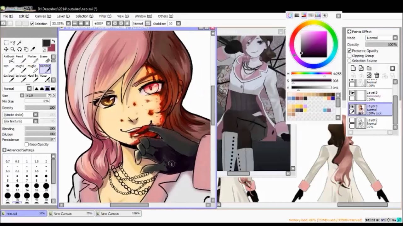 Rwby Speedpaint Neo Youtube