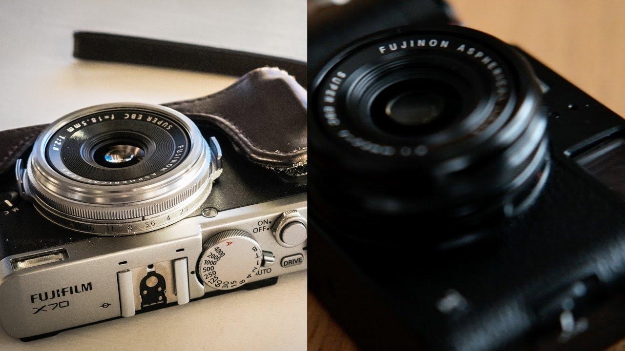 Compact Camera Battle - Fujifilm X70 vs X100t (and X100f)