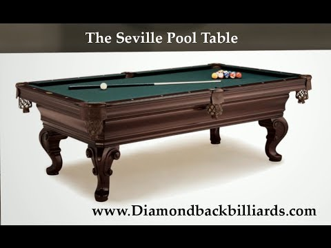 The Seville Pool Table A Hardwood Beauty For Info - Winners choice pool table
