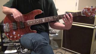 Stormy Monday Bass Cover