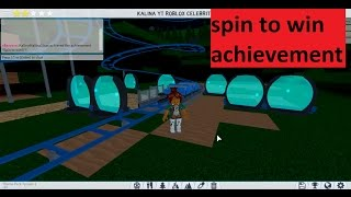THEME PARK TYCOON 2 HOW TO GET SPIN TO WIN // STEP BY STEP