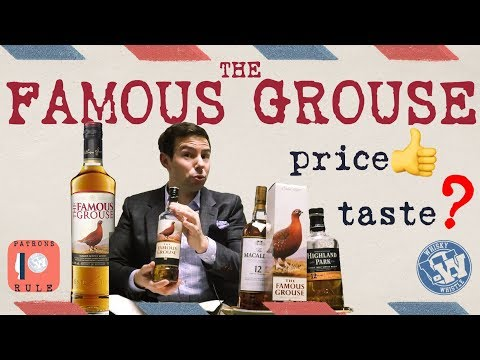The Famous Grouse Blended Scotch Whisky: WhiskyWhistle Whisky Review 26