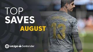 TOP Paradas Agosto LaLiga Santander 2019/2020