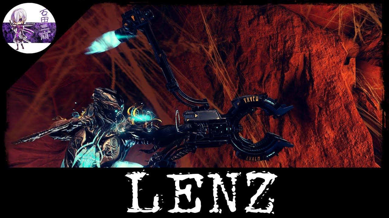 WARFRAME FR: Lenz Build + Info Sur Le Statut (U21 7)