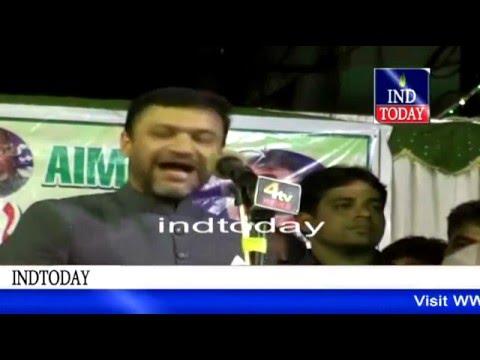Akbaruddin owaisi latest speech on political scenario in old city Hyderabad