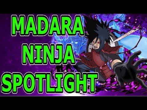 MADARA NINJA SPOTLIGHT - Naruto Online Team Guide