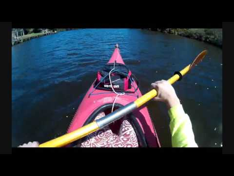 Kayak on St Lucie River