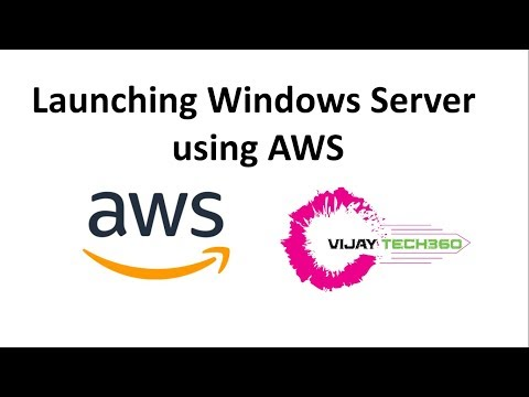 Launching Windows Server Using AWS || How To Connect Windows Server.