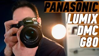 PANASONIC LUMIX DMC-G80: ПРАКТИЧЕСКИ ПРОФИ