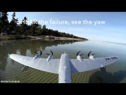 RC PLANE - Dual Partial Motor Failure on take off