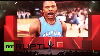 USA: EA unveils face-scan video-game tech in LA