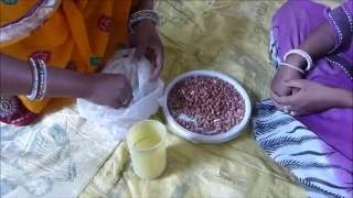 Moongphali Ka Beej Upchar (Ground nut seed treatment)- Tonk