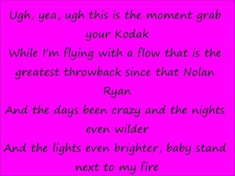 Im Blazin Lyrics (Nicki Minaj ft. Kanye West)