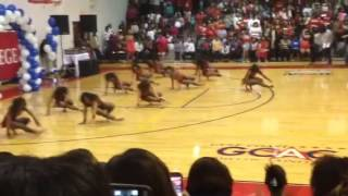 The Dancing Dolls medium stand battle at Tougolou College in Jackso...