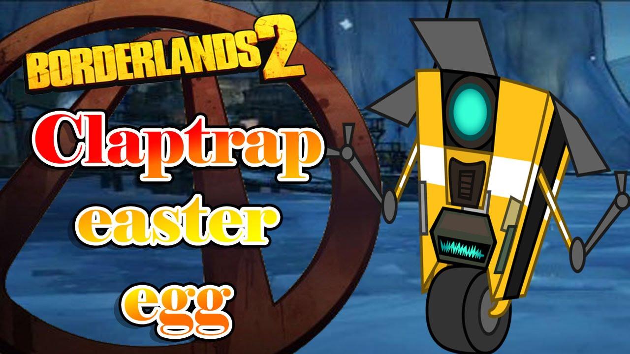 Borderlands 2 Claptrap easter eggs español - YouTube