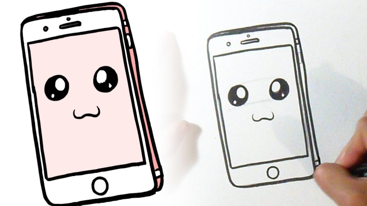 Винтаж открытка, рисунок на телефоне в приложении