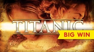 Titanic Slot - BIG WINS in ALL FEATURES - Longplay!