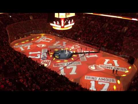 Rod Brind'Amour 17 Flyers Hall of Fame Induction Ceremony