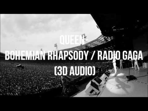 Queen - Bohemian Rhapsody/Radio Gaga (Live Aid 1985) | 3D Audio