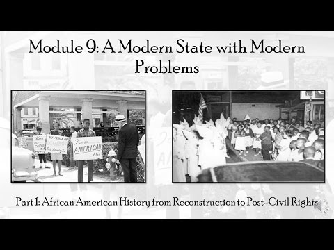 Module 9, Part I: Florida's African American History