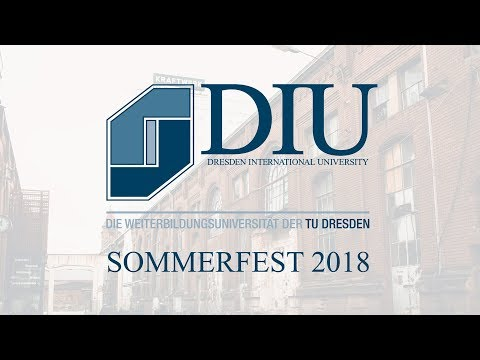 Dresden International University - Das Sommerfest 2018