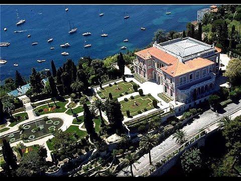 Villa Rothschild Cap Ferrat Frankreich C Te D Azur Youtube
