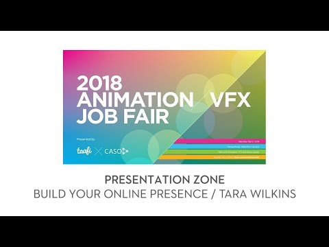 2018 TAAFI X CASO Job Fair: Build Your Creative Online Presence Tara Wilkins
