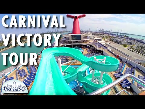 Carnival Victory Tour ~ Carnival Cruise Line ~ Cruise Ship Tour