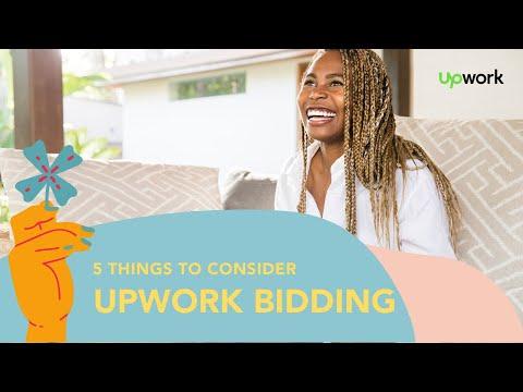 Upwork Bidding: 5 Things ALL Freelancers MUST Consider