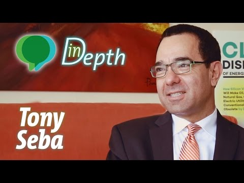 Tony Seba - Clean Disruption of Energy & Transportation [Youth Climate Report: In-Depth]