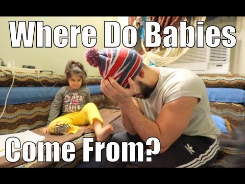 She Asked Me 'WHERE DO BABIES COME FROM?'