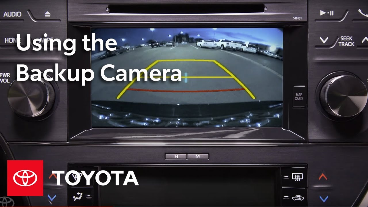 Toyota How To Backup Camera