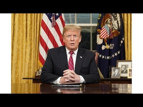 Trump Demands Wall To Reopen Government In Oval Office Address