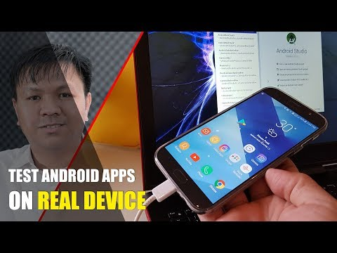How To Run Apps In Android Studio On Real Android Phone + Samsung SideSync For Screen Mirroring
