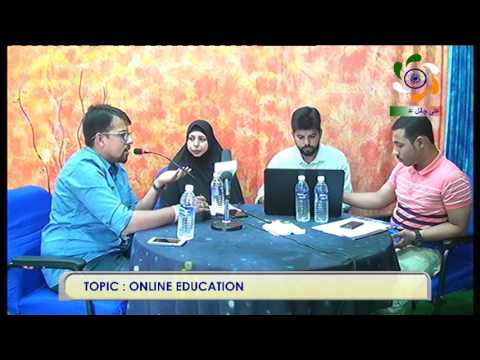 TOPIC : ONLINE EDUCATION