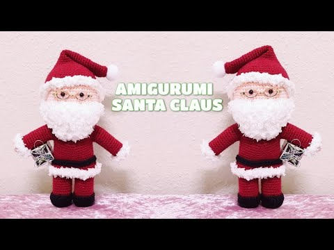 PATTERN Cuddle-Sized Santa Claus Amigurumi – Storyland Amis | 360x480